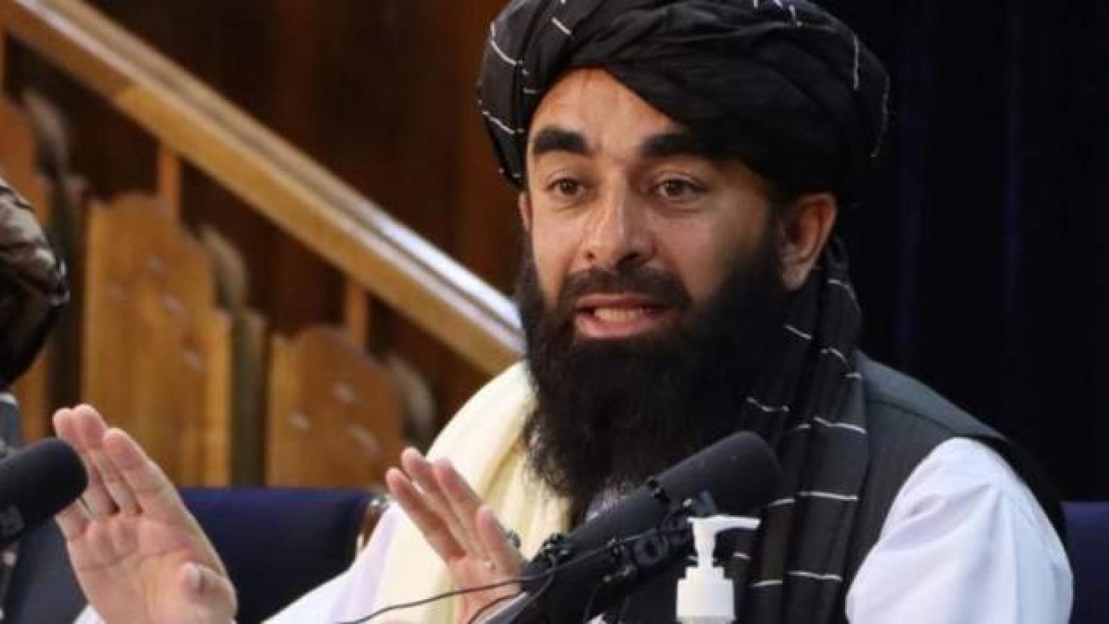 Taliban lên án cuộc tấn công của Mỹ bằng UAV nhằm vào IS trên lãnh thổ Afghanistan