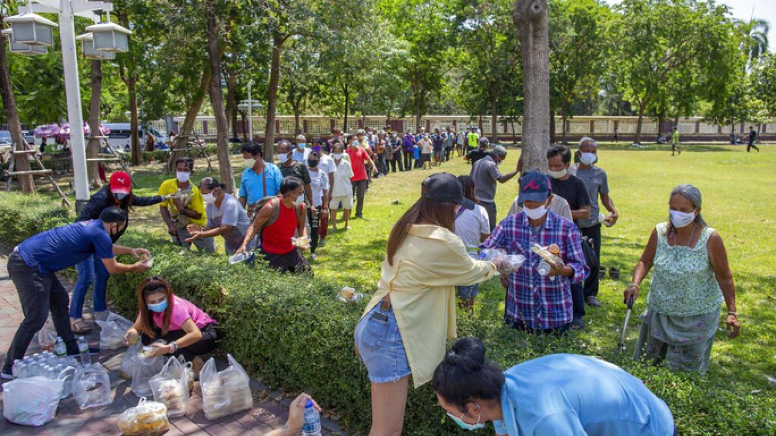 Tỷ lệ thất nghiệp ở Thái Lan gia tăng