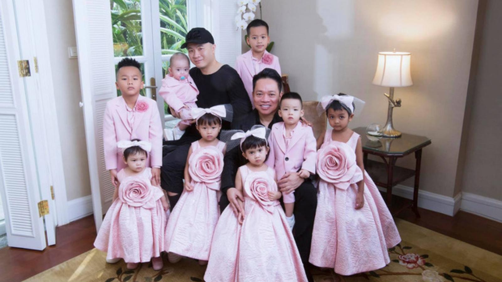 Nhà thiết kế Đỗ Mạnh Cường nhận con nuôi thứ 9