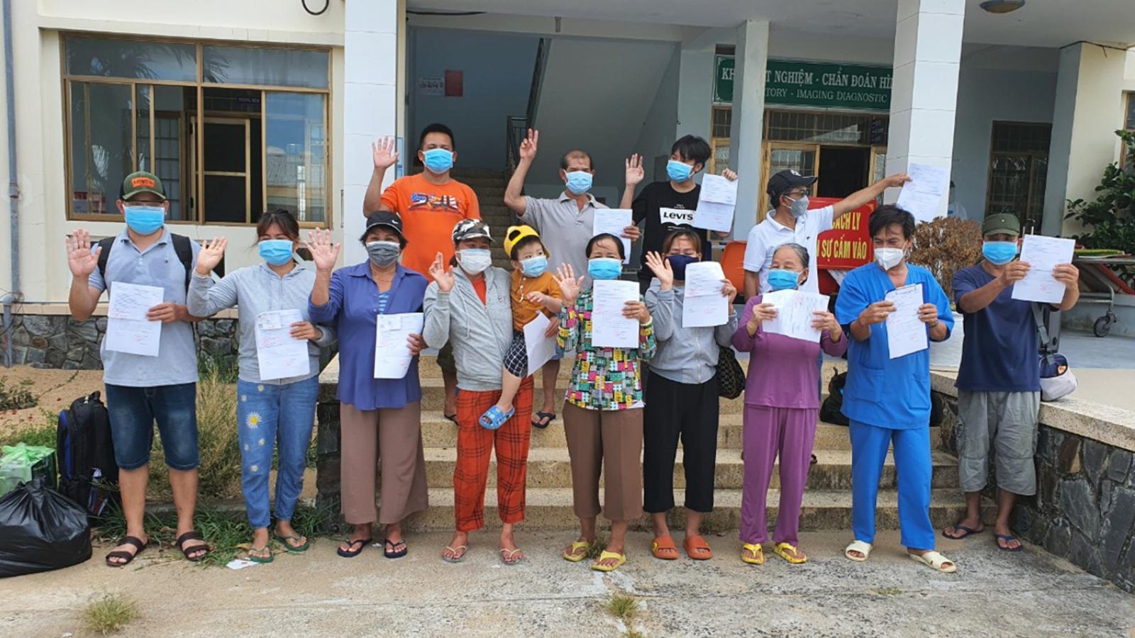 Hơn 1.000 bệnh nhân mắc Covid-19 ở Phú Yên được chữa khỏi bệnh và xuất viện