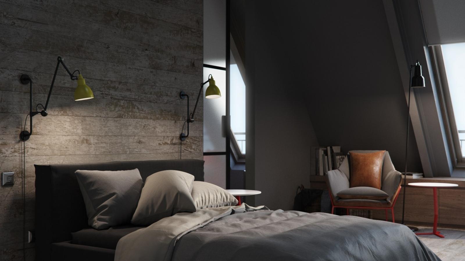 Ý tưởng tuyệt vời cho phòng ngủ nam tính