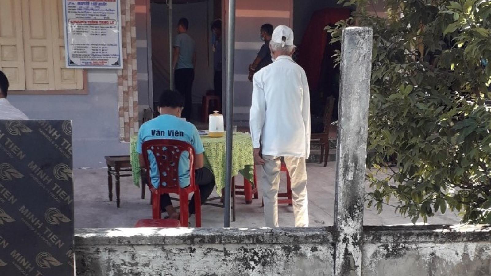 Một ngườiđàn ông bị đâm tử vong trong đêm tại Quảng Nam