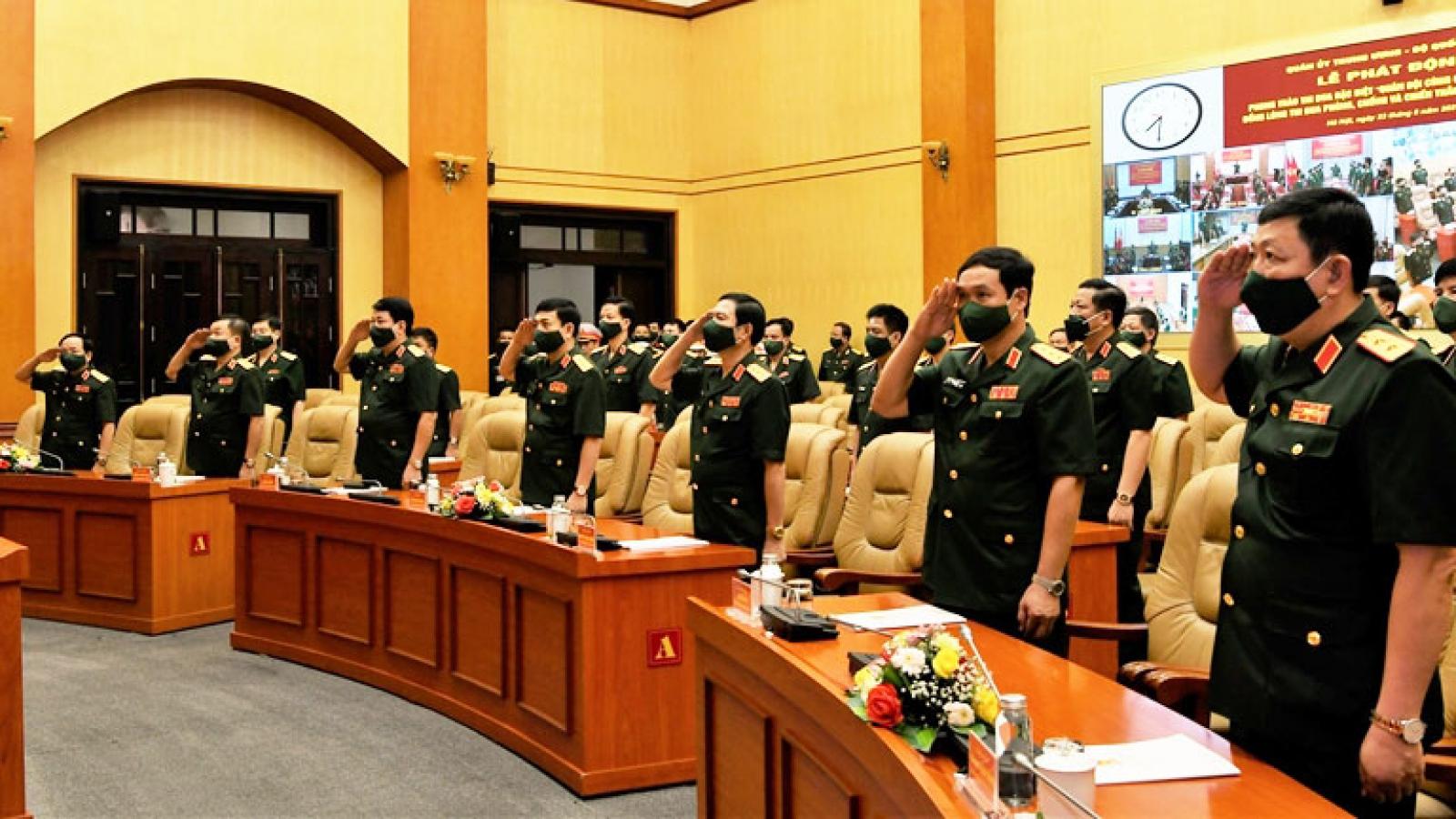 Phát động phong trào thi đua đặc biệt Quân đội cùng cả nước chống dịch