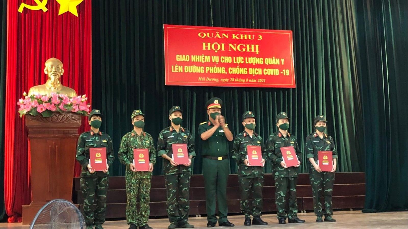 Bệnh viện Quân y 7 tiếp tục cử lực lượng vào Nam hỗ trợ chống dịch