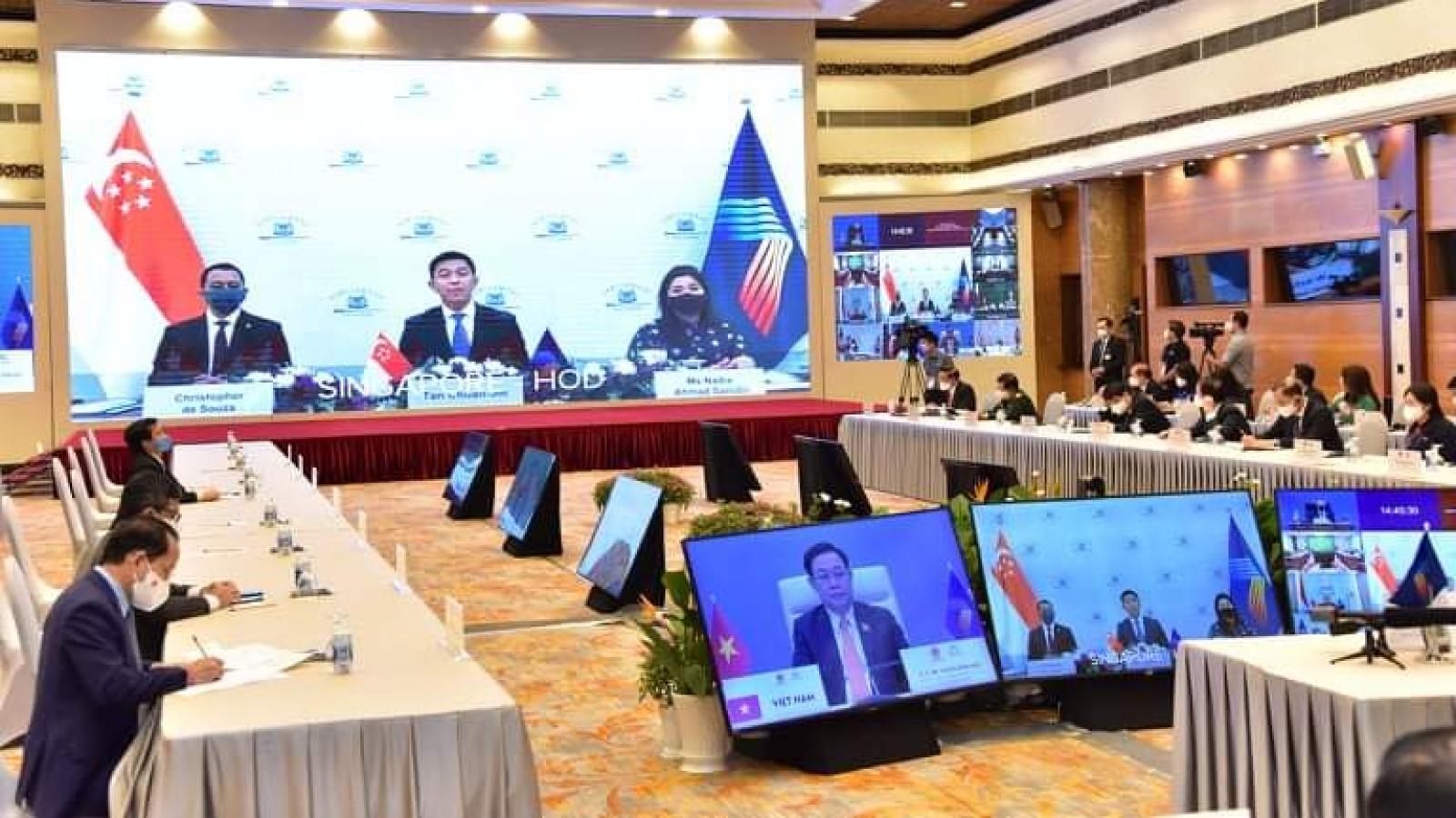 Đại dịch Covid-19 là phép thử sự vững chắc và phát triển của ASEAN