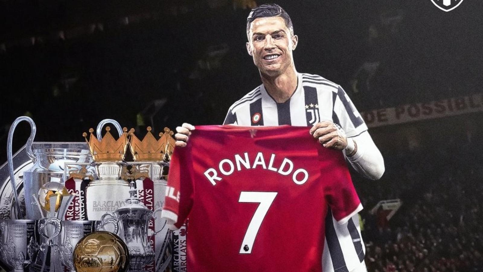 Cristiano Ronaldo trở lại MU: Cúp vô địch trong lòng người hâm mộ