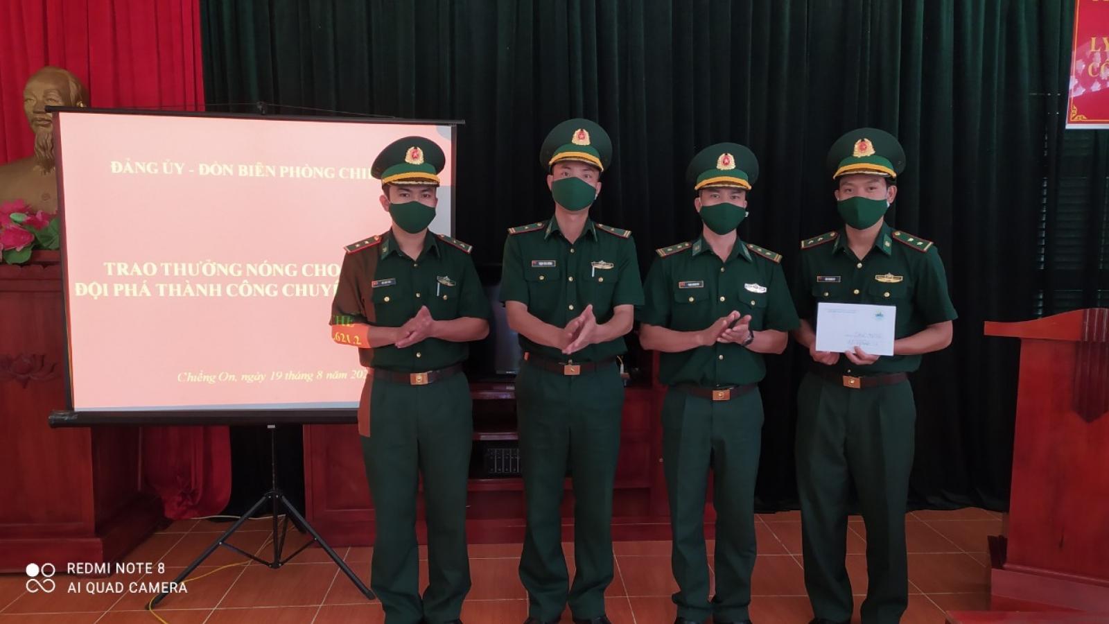 Sơn La thưởng nóng cho 2 tập thể bắt giữ 5 đối tượng phạm tội về ma túy