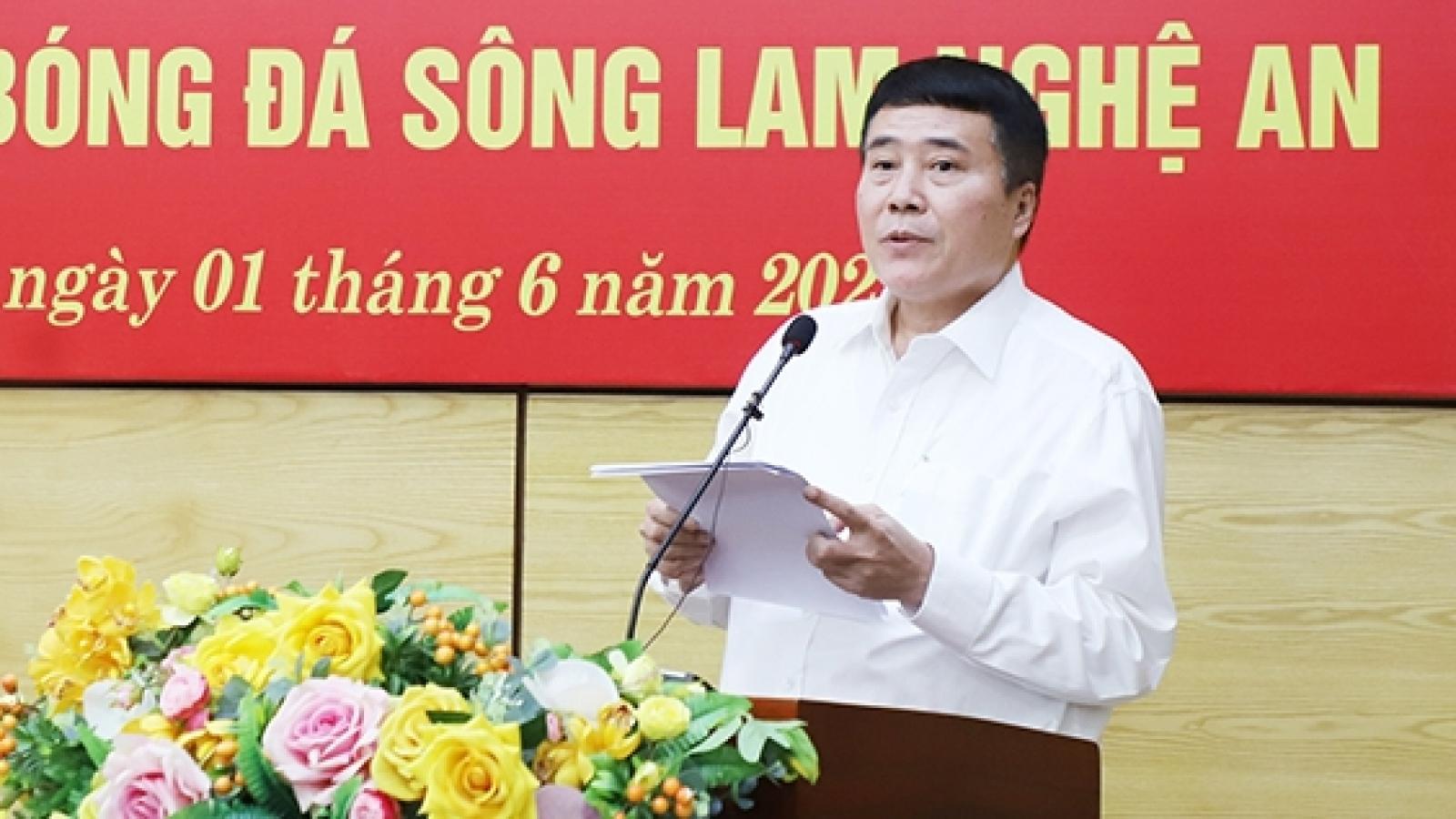 Chủ tịch SLNA đề xuất giải pháp mang đến công bằng cho các CLB V-League 2021
