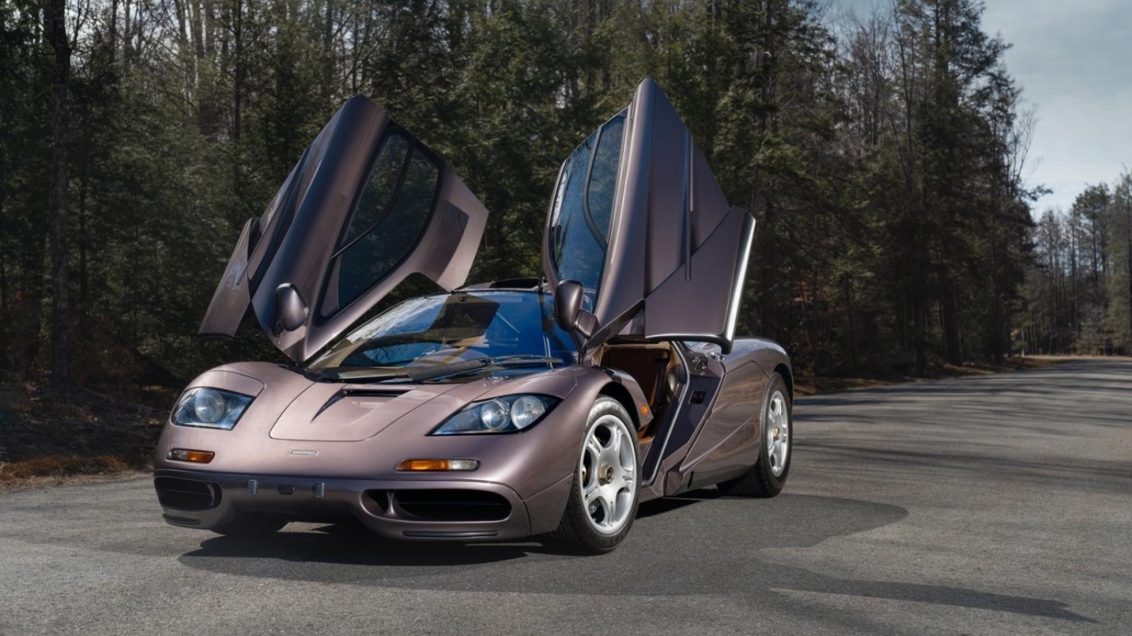 McLaren F1 đời 1995 được bán với giá hơn 20 triệu USD