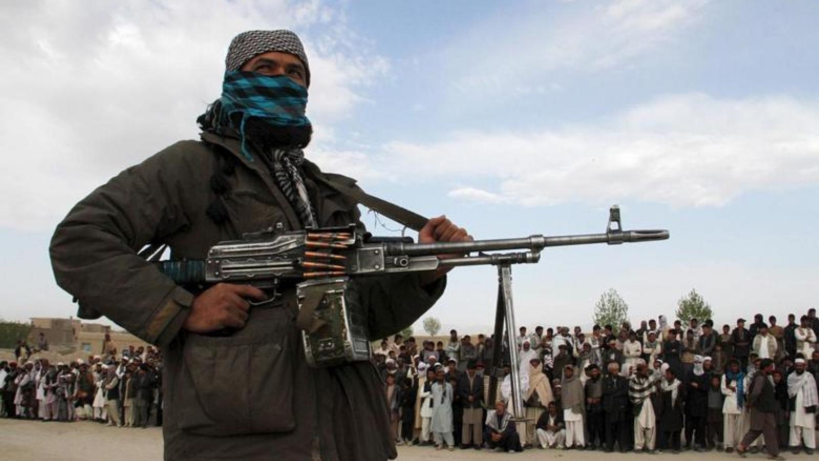Taliban đã giành quyền kiểm soát 65% lãnh thổ Afghanistan