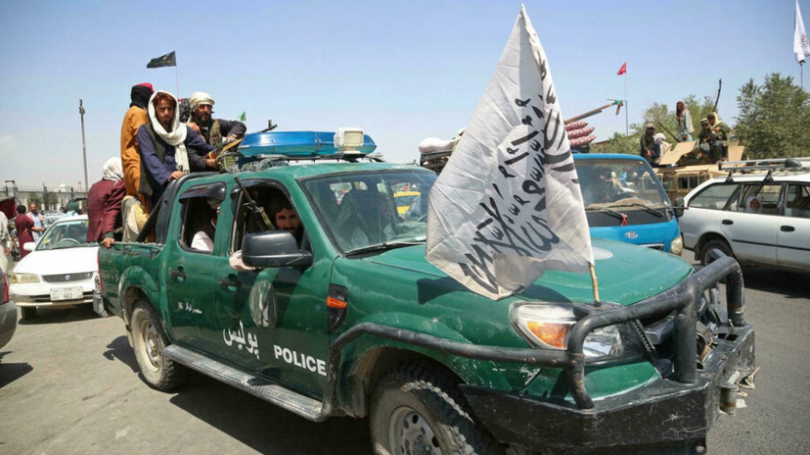 Mỹ ngăn Taliban tiếp cận khoản tiền dự trữ của Afghanistan