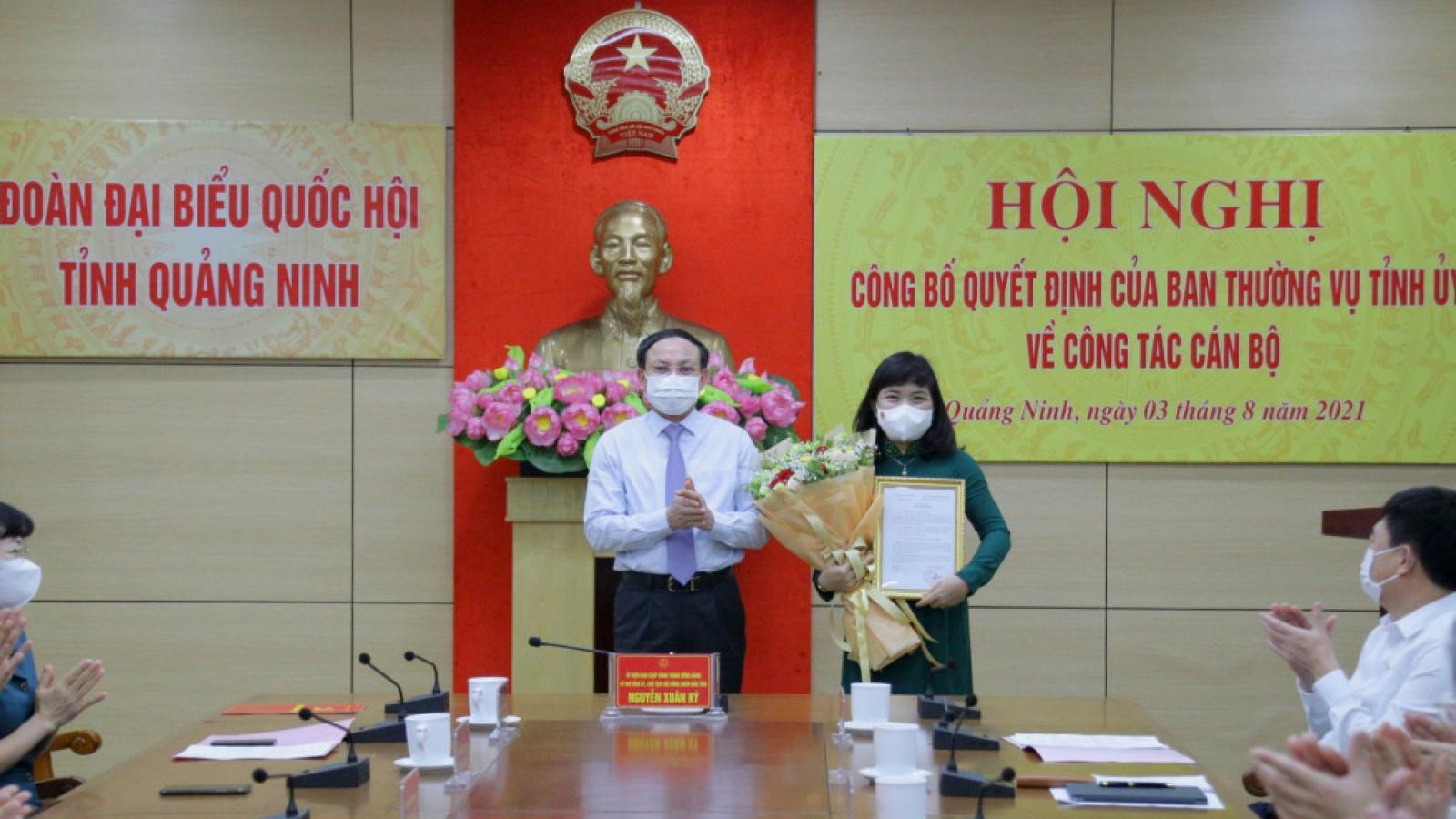Bí thư Huyện ủy Đầm Hà làm Phó Trưởng Đoàn ĐBQH tỉnh Quảng Ninh