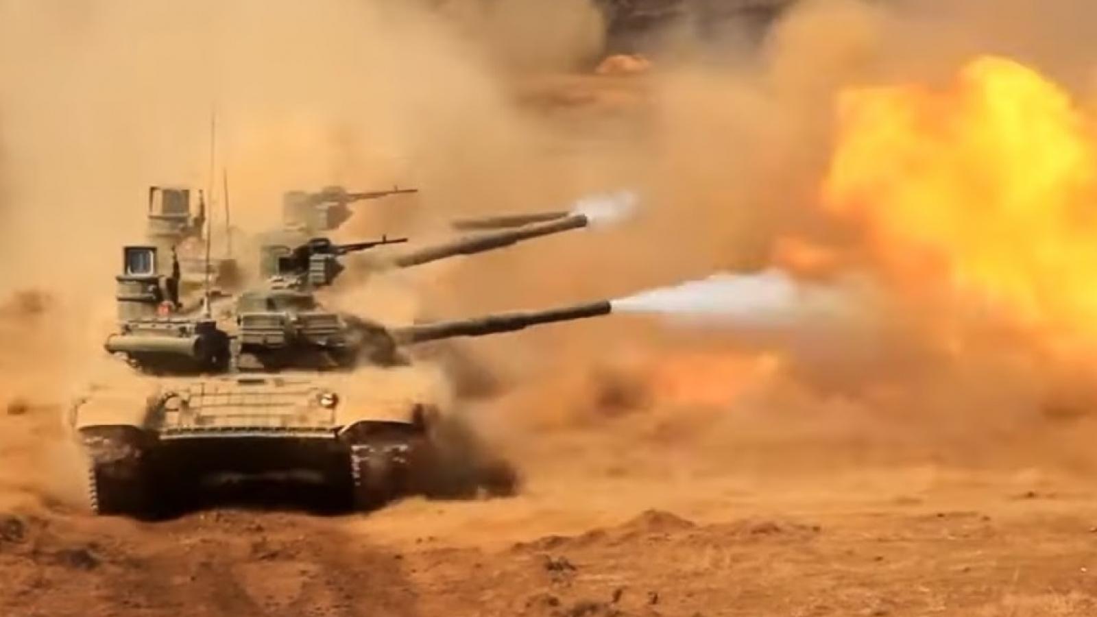 Nga và Lào hoàn thành tập trận chung chống khủng bố Laros 2021