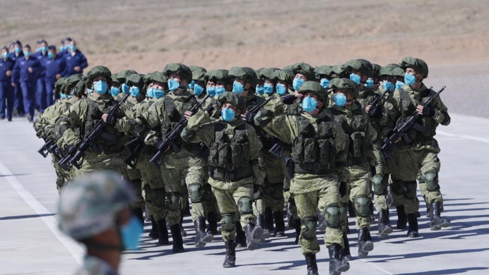 Nga, Trung Quốc kết thúc tập trận chống khủng bố sát biên giới với Afghanistan