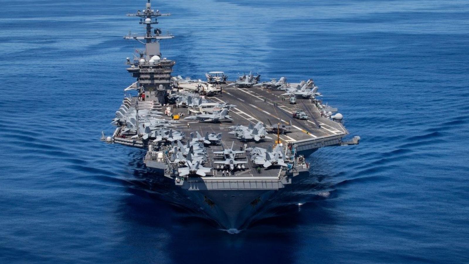 Mỹ tập trận ở Ấn Độ Dương-Thái Bình Dương, gửi thông điệp cứng rắn tới Trung Quốc