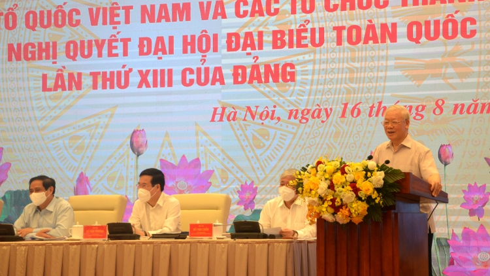 Tổng Bí thư Nguyễn Phú Trọng: Cần quan tâm lợi ích thiết thực của người dân
