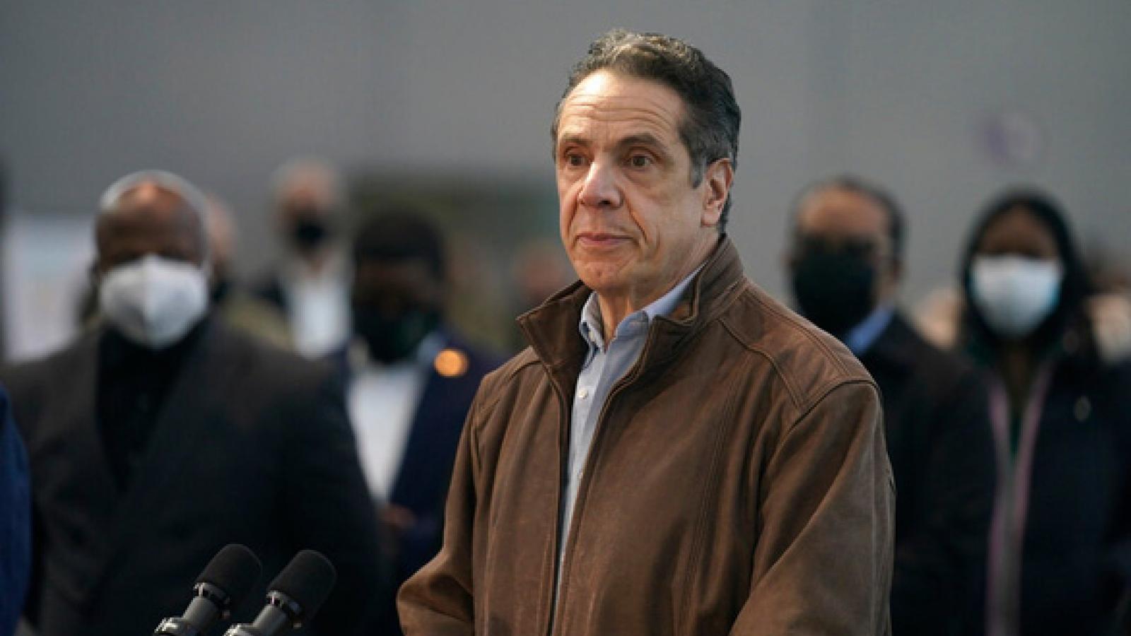 Thống Đốc bang New York Andrew Cuomo tuyên bố từ chức