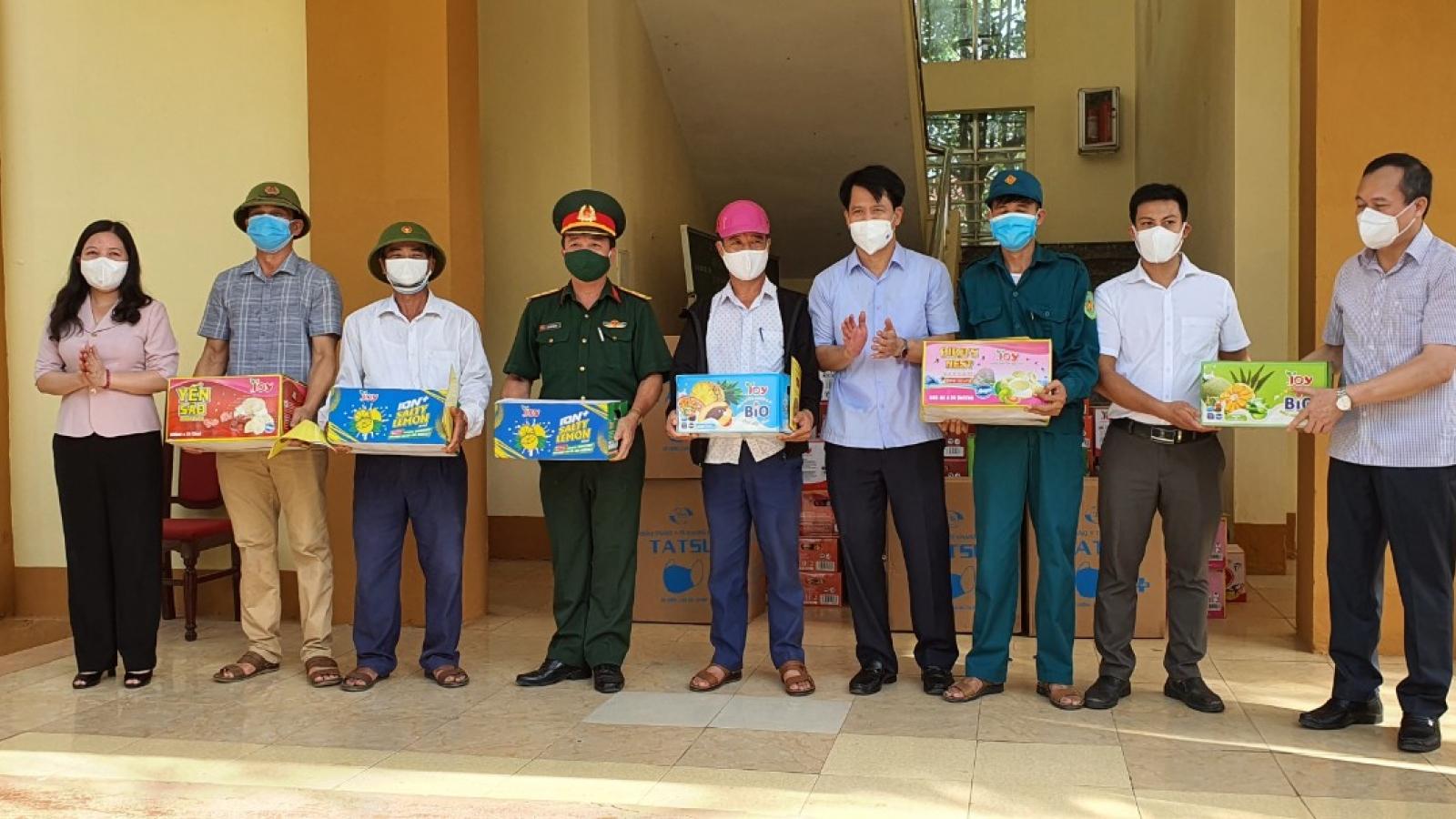 Bí thư tỉnh ủy Thanh Hoá: Cần tiếp tục làm tốt công tác cách ly người về từ vùng dịch