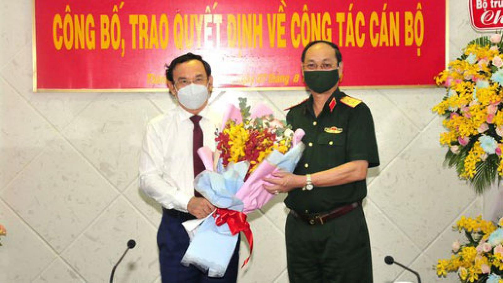 Tư lệnh Bộ Tư lệnhTP.HCM Nguyễn Văn Nam được thăng quân hàm Trung tướng