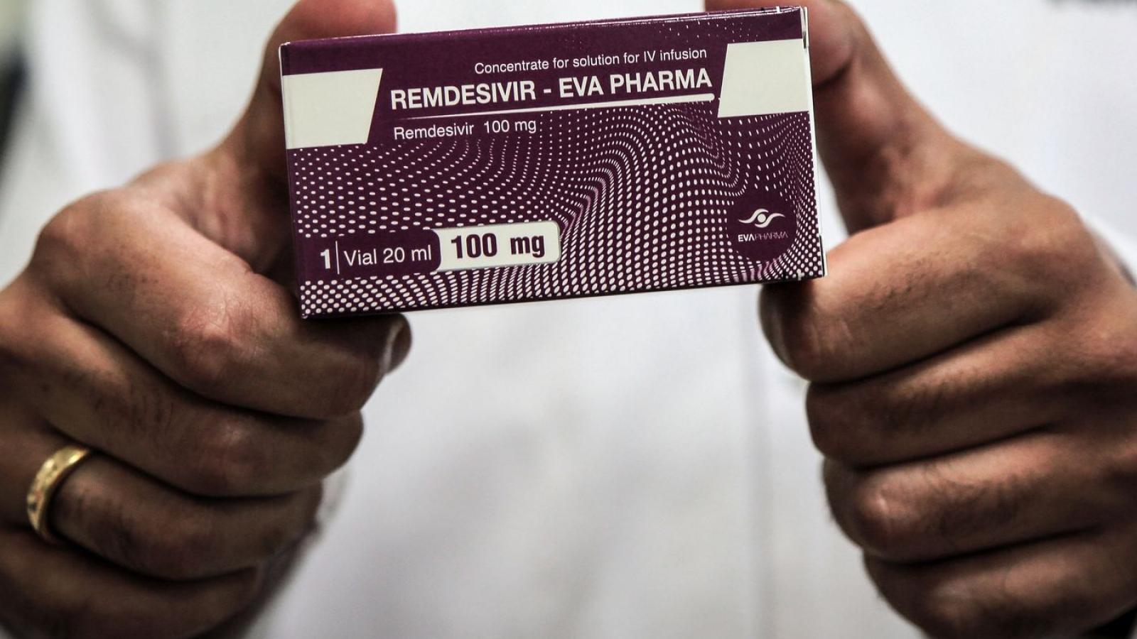 Khoảng 10.000 lọ thuốc Remdesivir đầu tiên đã về tới TP.HCM