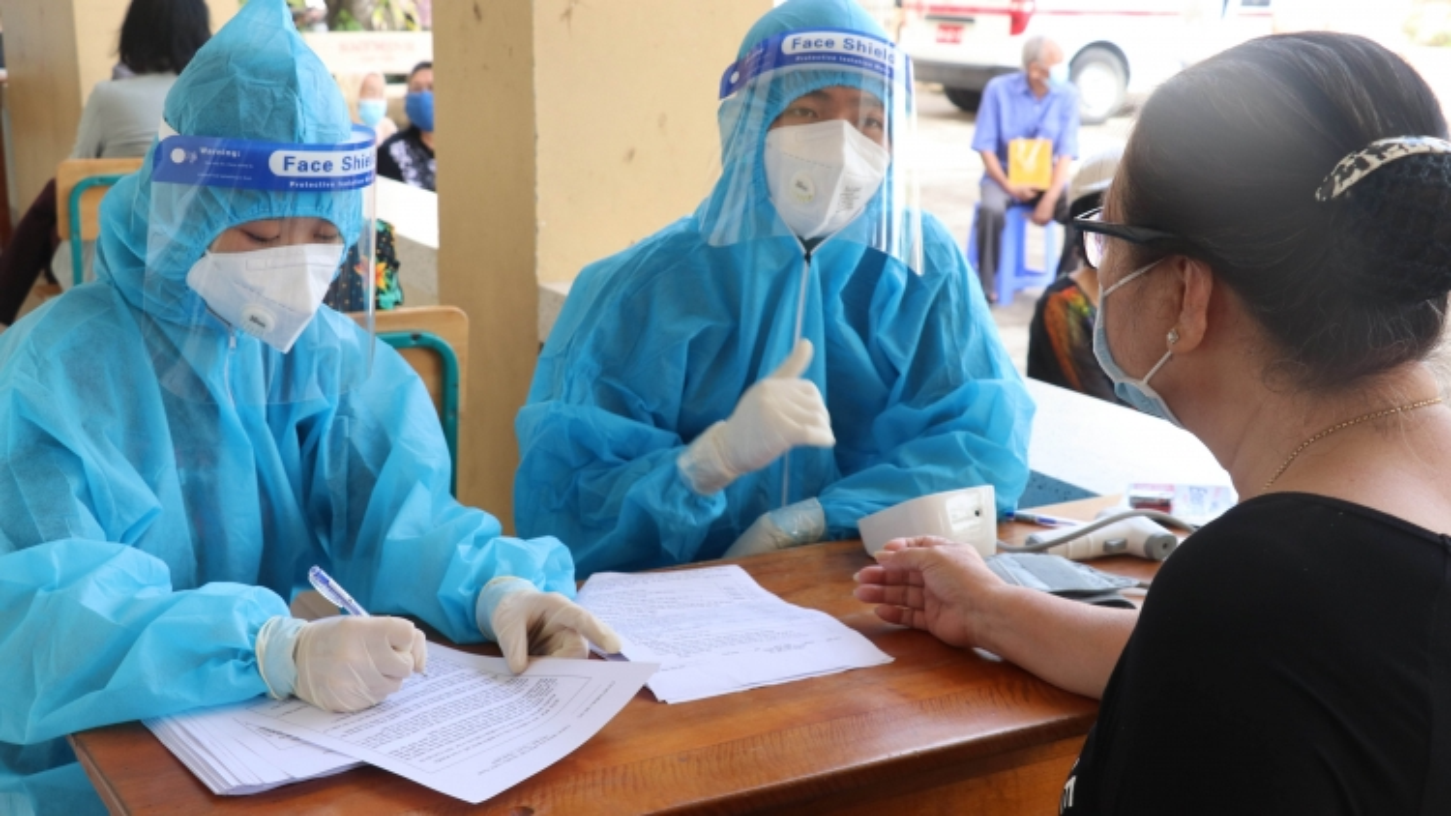 Long An đã tiêm hơn 237.000 liều vaccine cho người dân