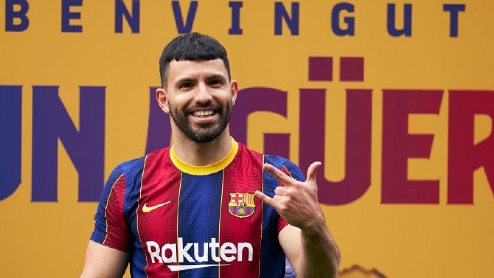 Chuyển nhượng 7/8: Aguero muốn rời Barca, Real Madrid chờ Mbappe
