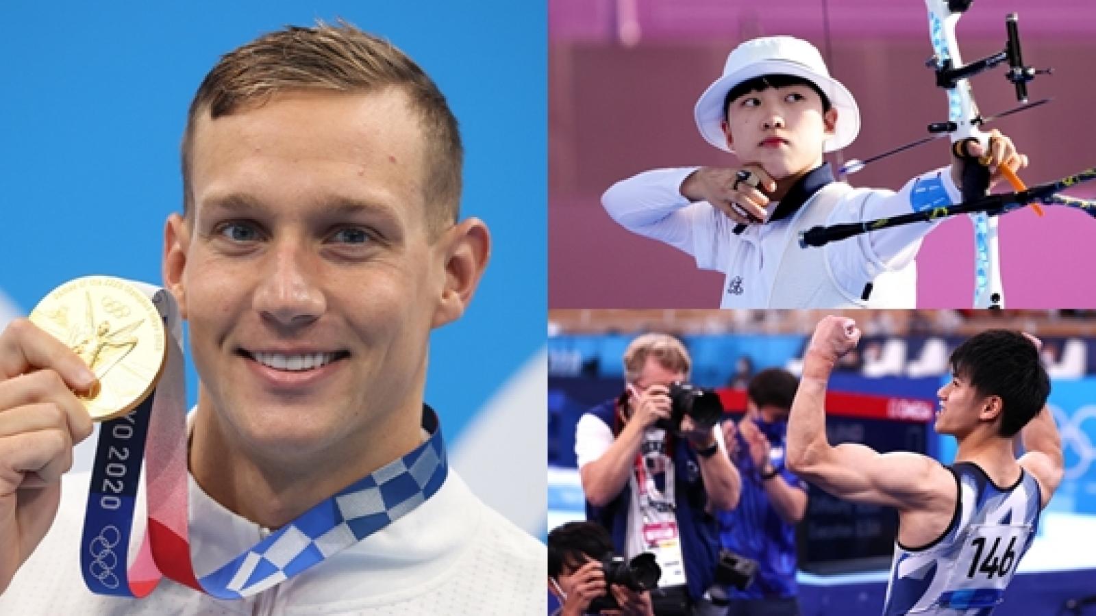 Top 10 VĐV thành công nhất Olympic Tokyo 2020