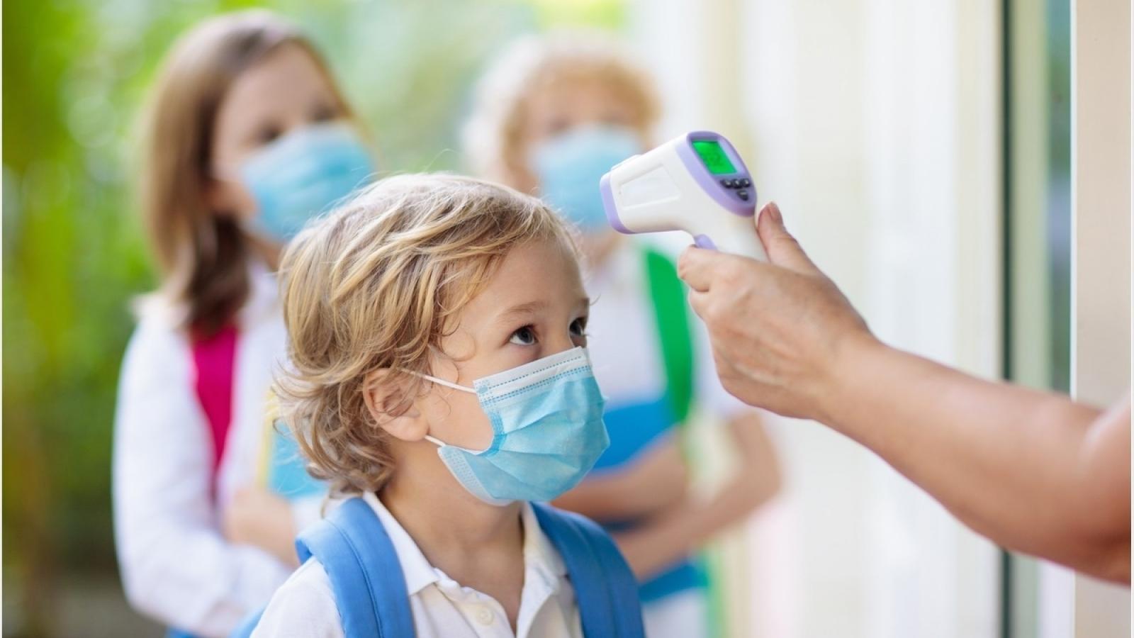 Số ca mắc Covid-19 ở trẻ em và thanh thiếu niên tại Mỹ tăng tới 84% trong một tuần