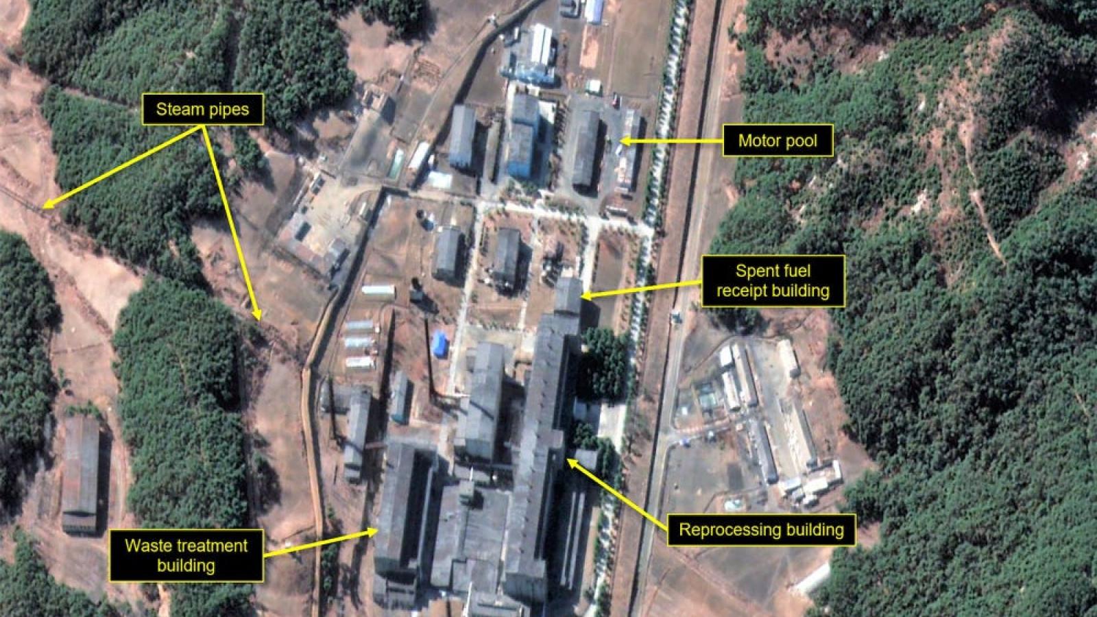 Triều Tiên bị nghi khởi động lại lò phản ứng hạt nhân ở Yongbyon