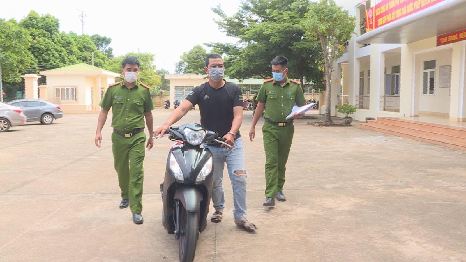 Từ Hà Nội vào Đắk Lắk gây ra nhiều vụ lừa đảo và trộm cắp tài sản