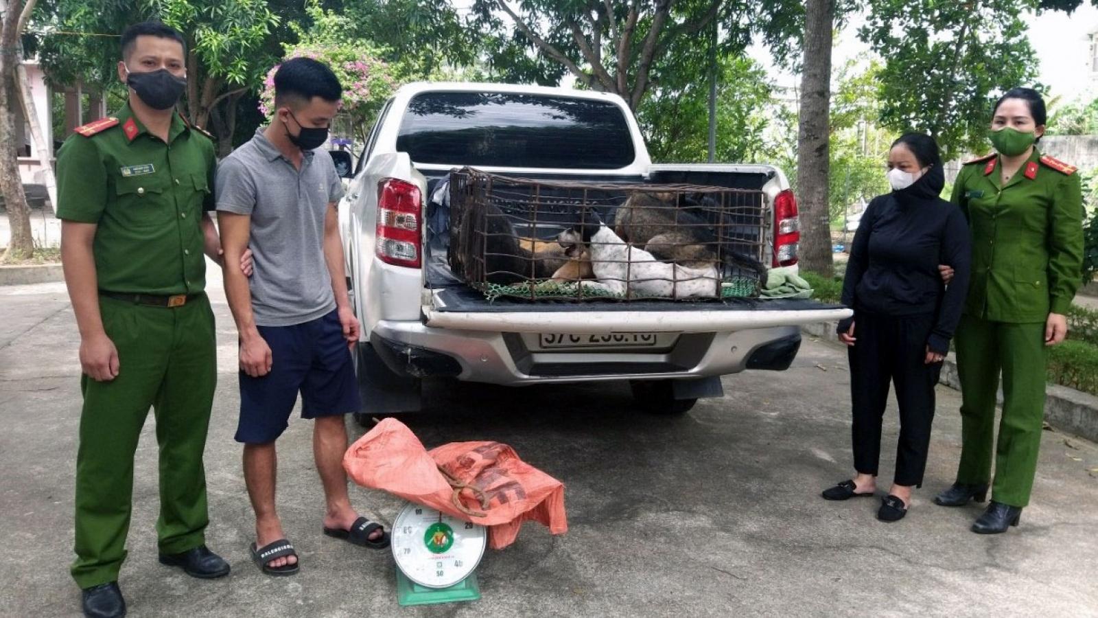 """Nhóm """"cẩu tặc"""" gây ra hơn 50 vụ trộm chó liên tỉnh"""