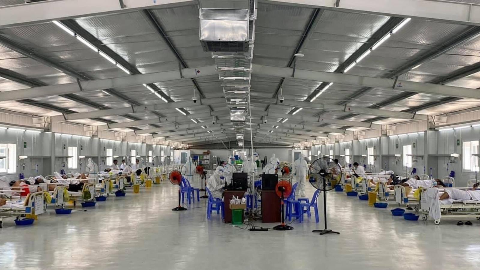 Bổ sung thêm thiết bị, vật tư, nhân lực cho các Trung tâm hồi sức Covid-19 tại TP.HCM