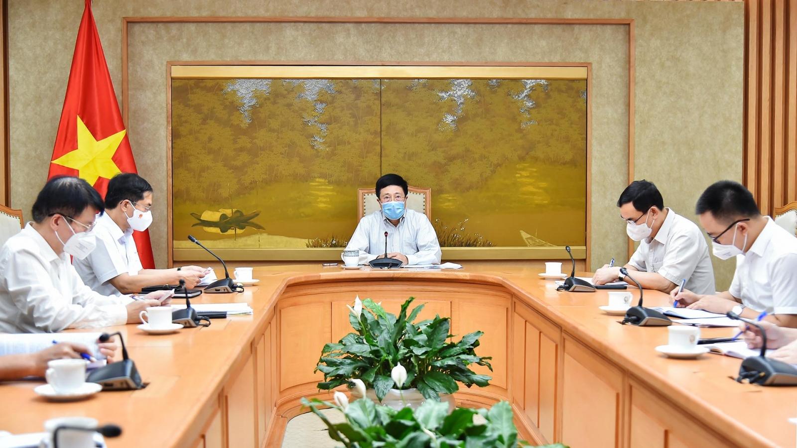 Phó Thủ tướng Phạm Bình Minh: Công tác ngoại giao vaccine đã đạt các kết quả tích cực