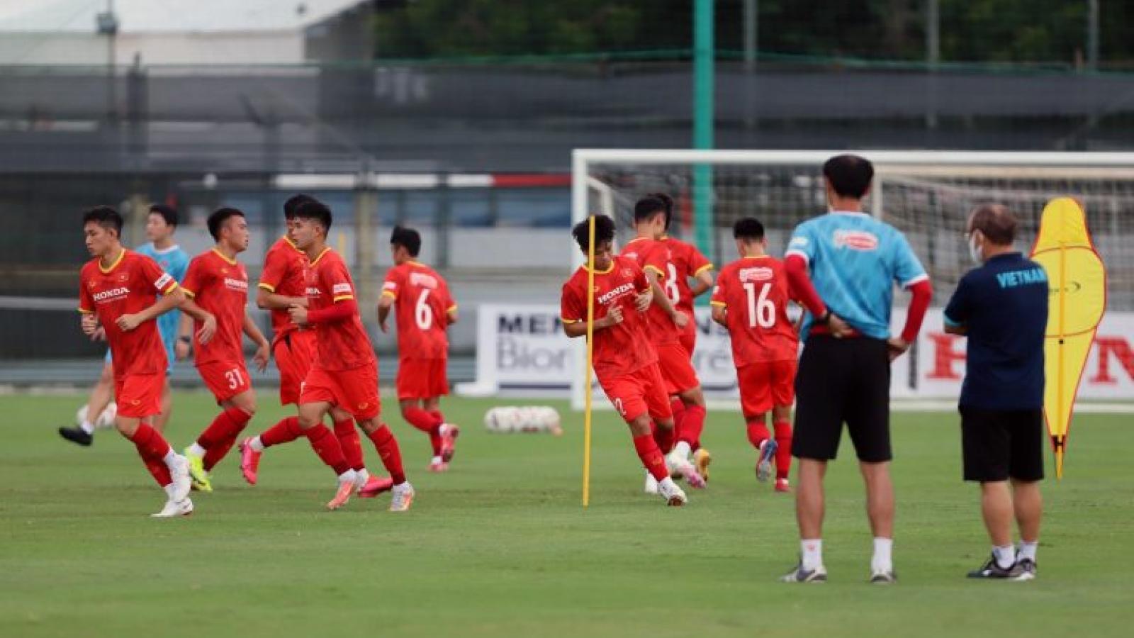 U23 Việt Nam có thể tập huấn ở Hàn Quốc trước vòng loại U23 châu Á 2022