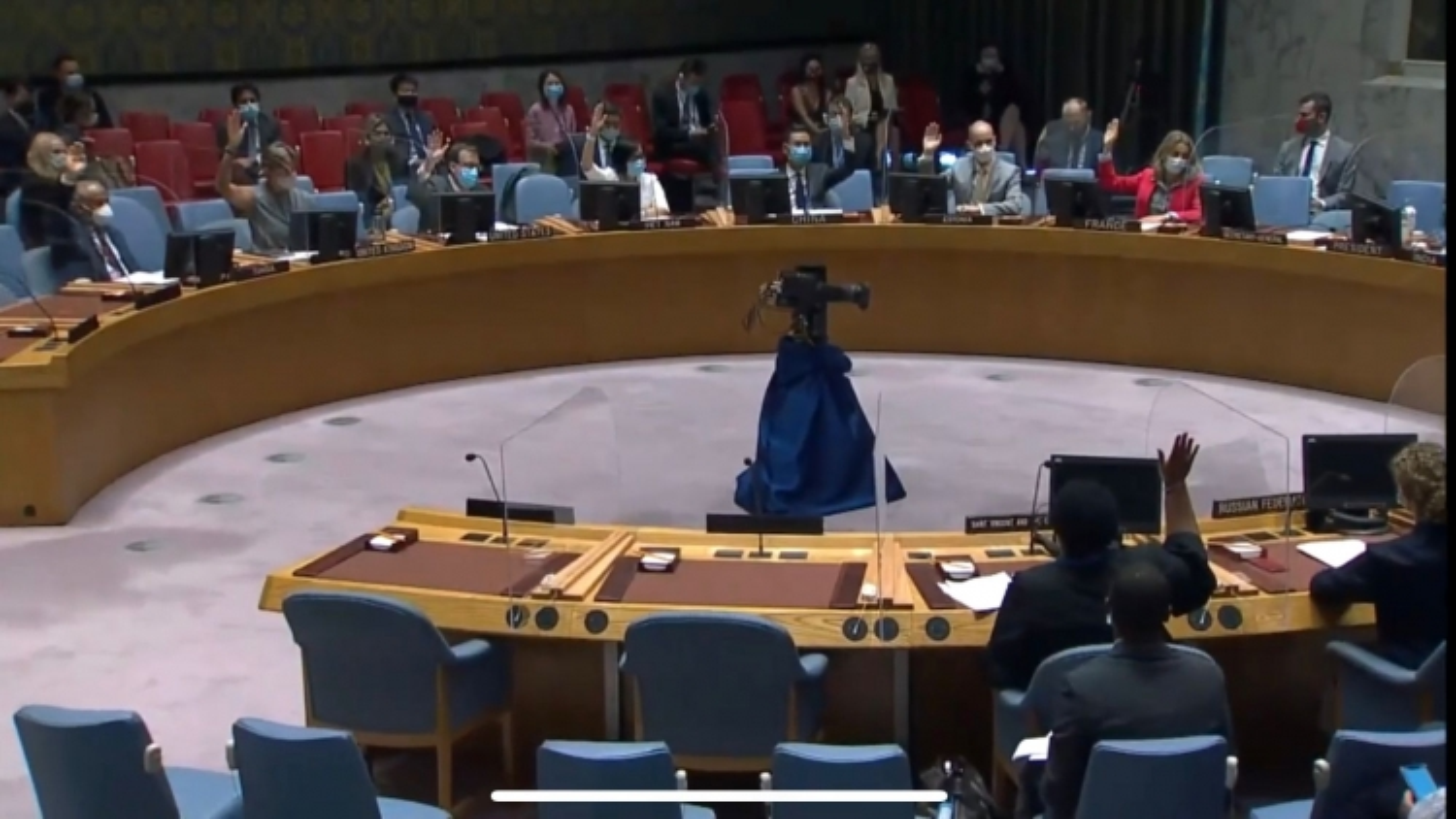 Hội đồng Bảo an LHQ họp về tình hình Trung Đông