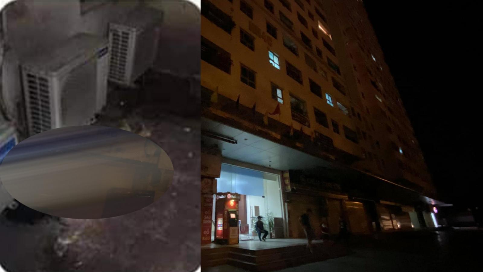 Bé gái 12 tuổi rơi từ tầng 12 chung cư Linh Đàm (Hà Nội) xuống tử vong