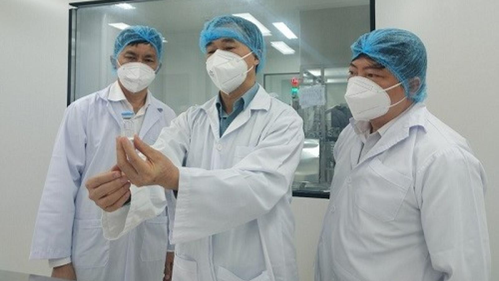 Bộ Y tế mong muốn Việt Nam sớm có vaccine sản xuất trong nước