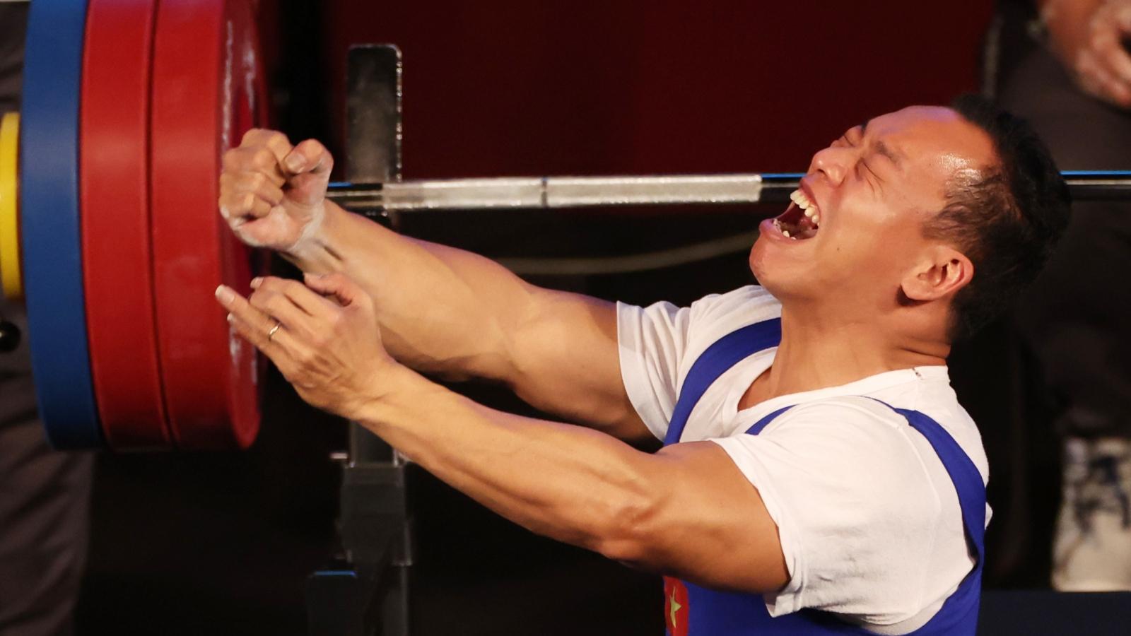 VĐV Lê Văn Công: Thật tuyệt vời khi giành HCB Paralympic Tokyo