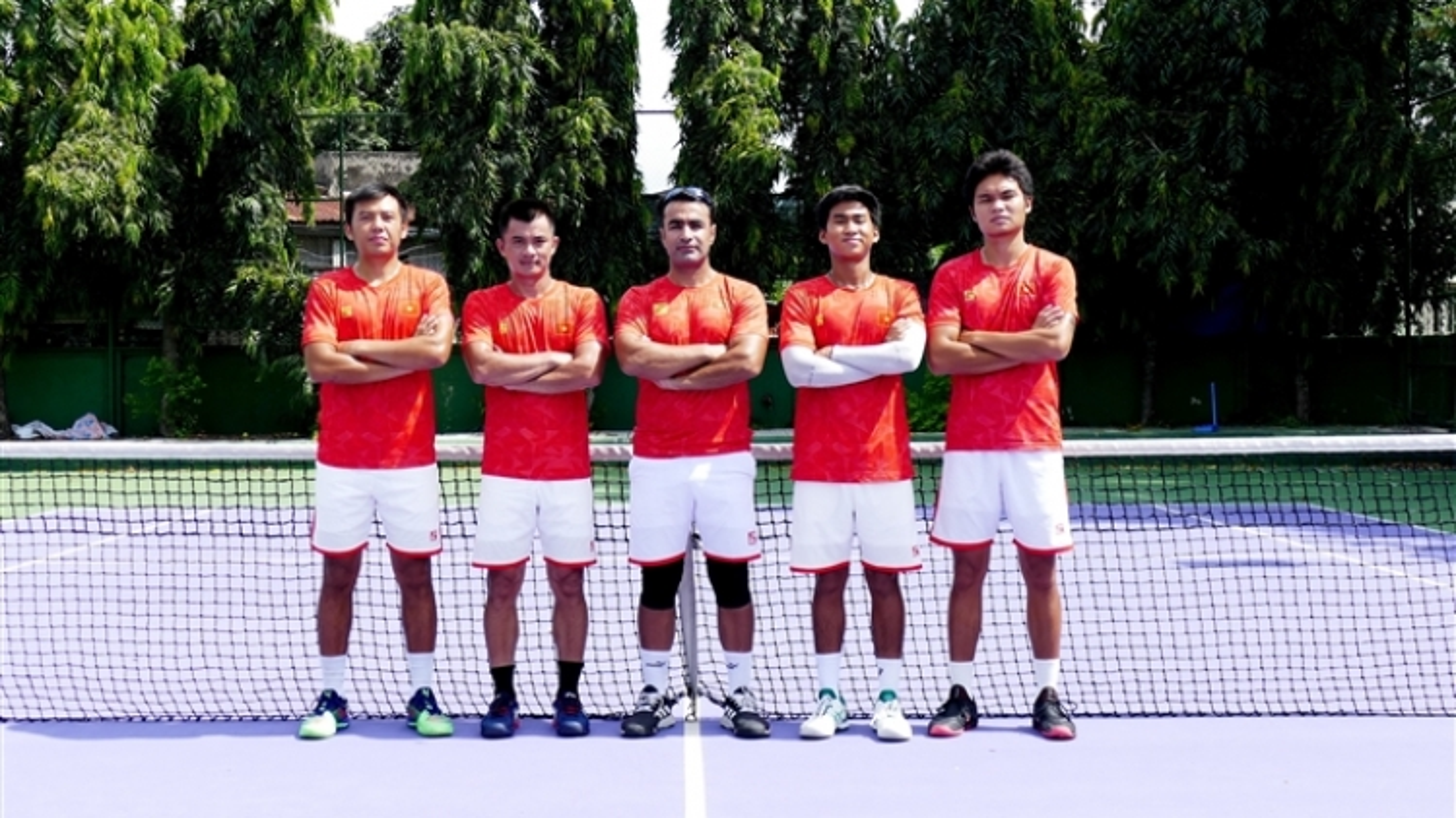 Vietnam tennis team to compete at Davis Cup in Jordan