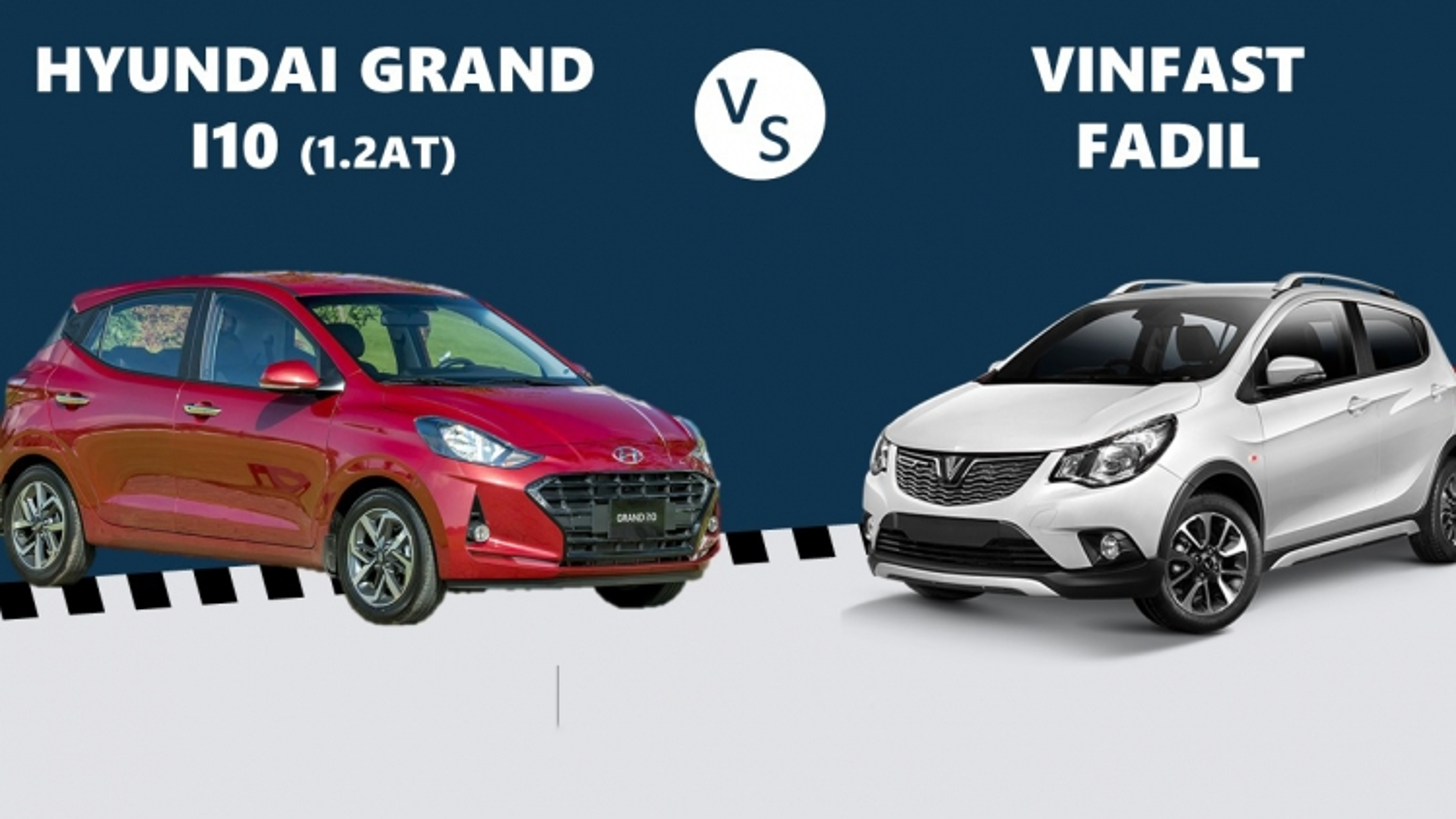 Mua Hyundai Grand i10 mới hay VinFast Fadil với 400 triệu đồng?