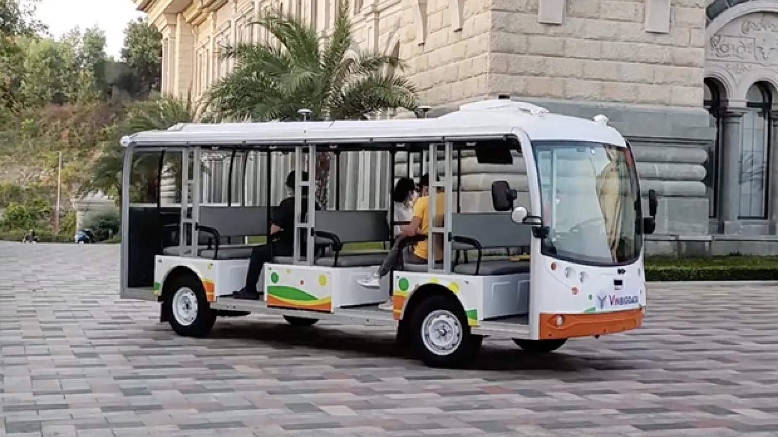Vingroup tests self-driving electric vehicle in Nha Trang