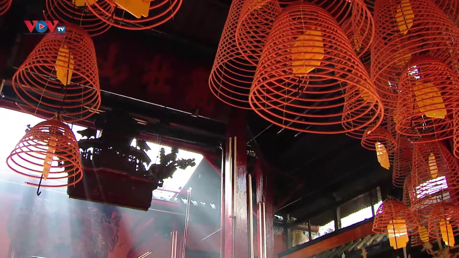 Chùa Ông – công trình nghệ thuật bên bến Ninh Kiều