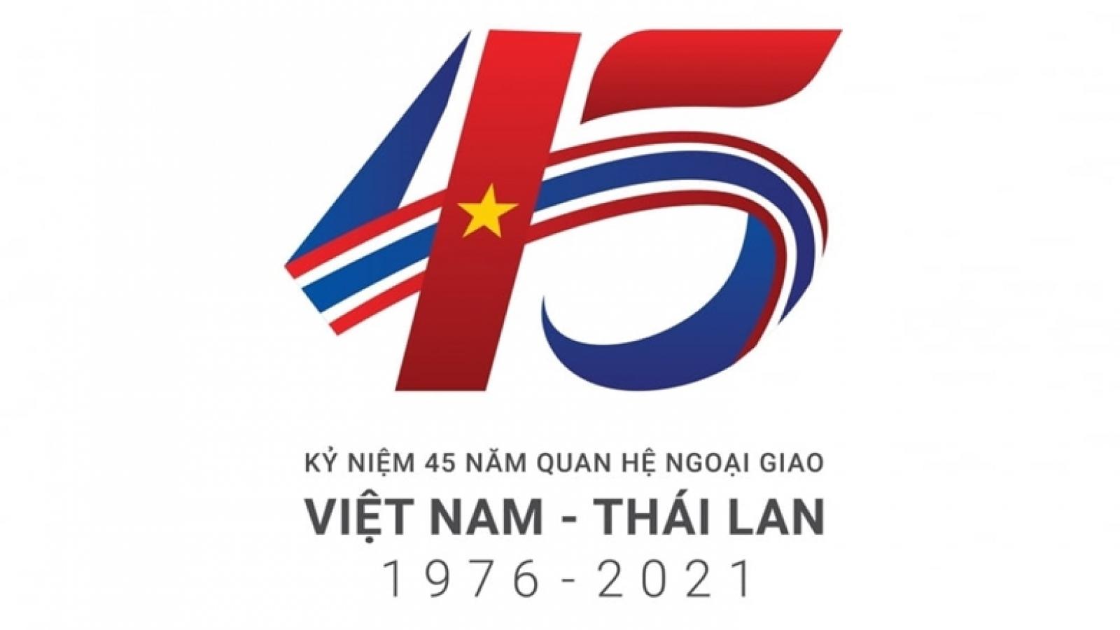 Điện mừng 45 năm quan hệ ngoại giao Việt Nam - Thái Lan