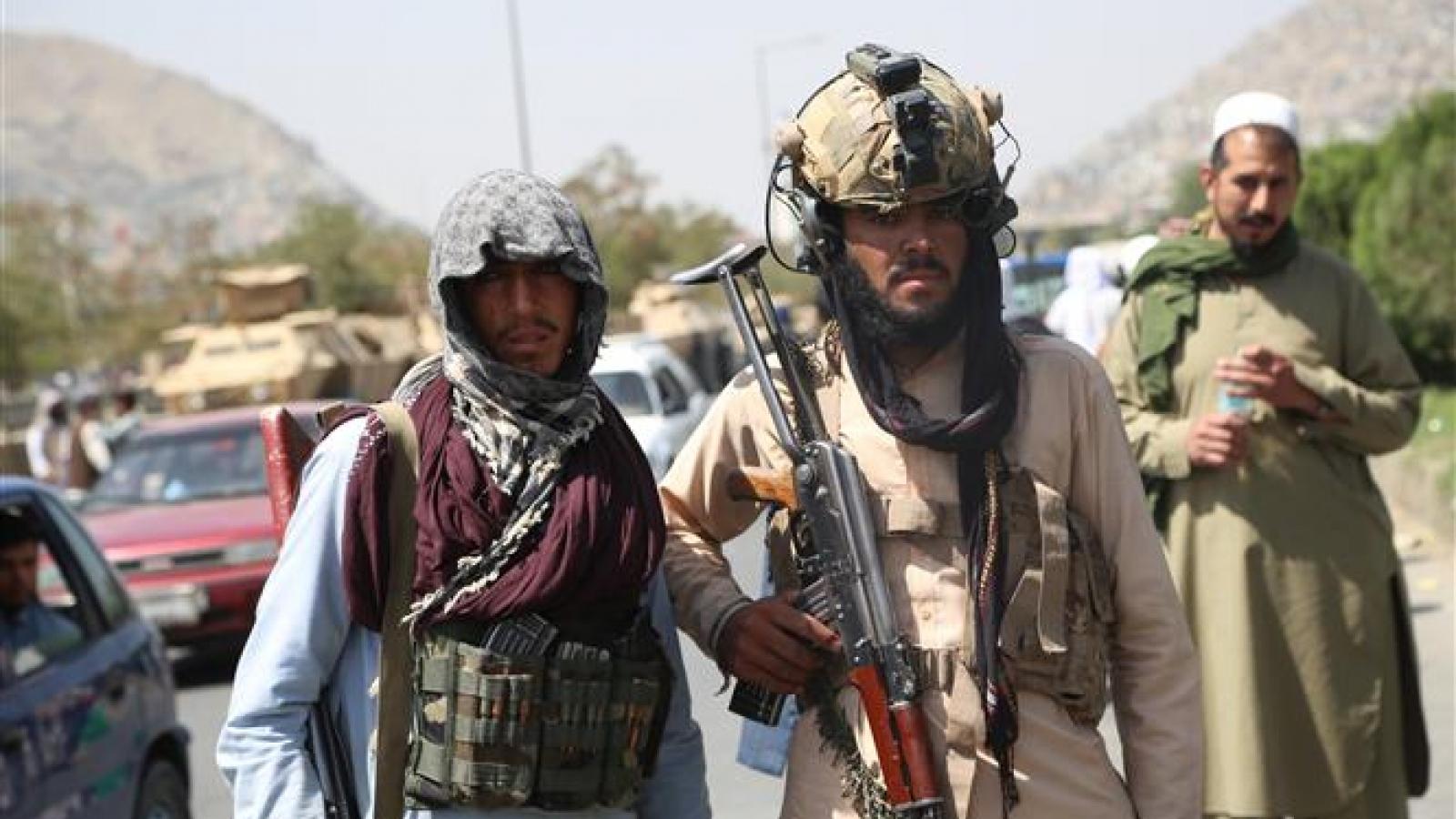 Taliban cam kết chống khủng bố và biến đổi khí hậu