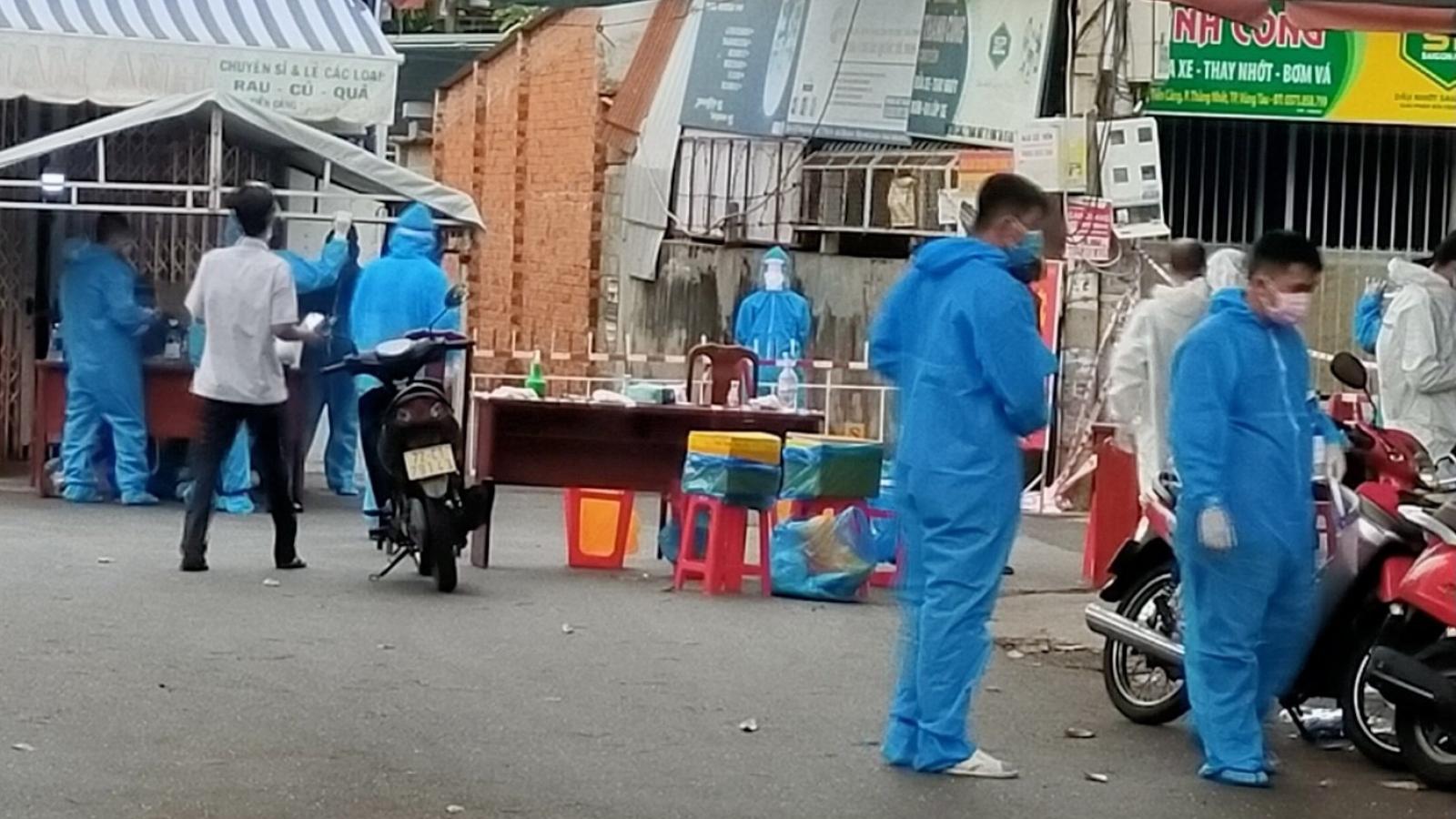 Phát hiện ổ dịch mới chưa rõ nguồn lây ở thành phố Vũng Tàu