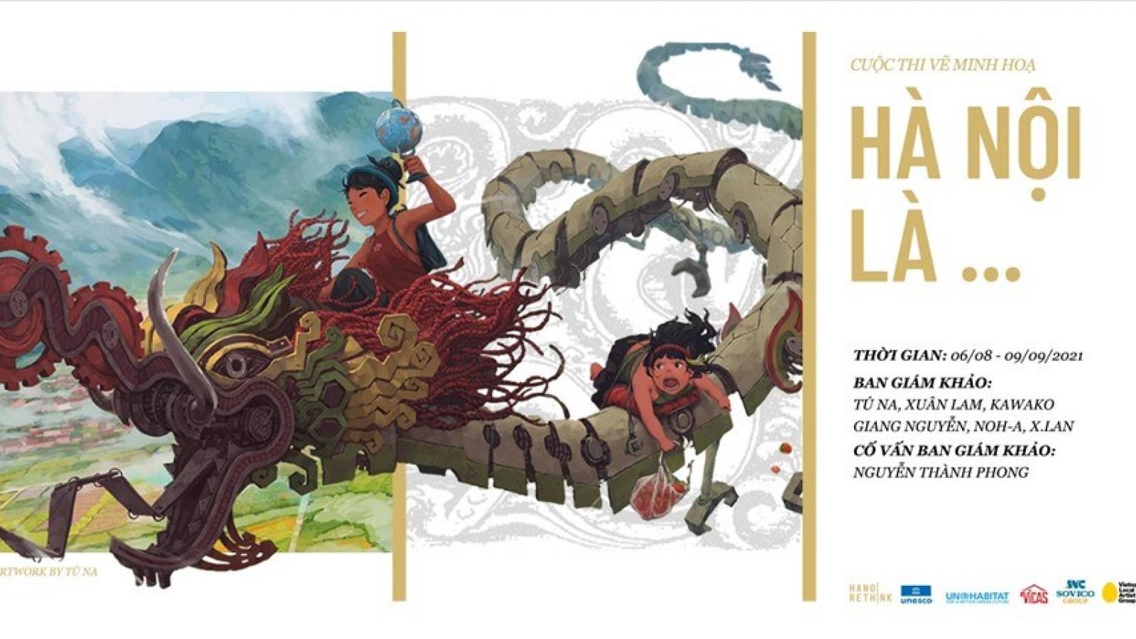 """""""Hà Nội là…"""" – Cuộc thi vẽ khám phá và trưng bày một thành phố sáng tạo"""