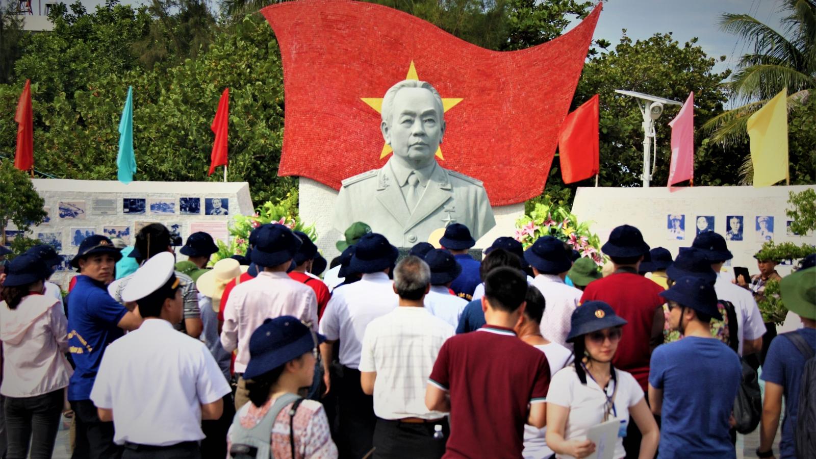 Công viên Đại tướng Võ Nguyên Giáp: Điểm đến tinh thần ở Trường Sa