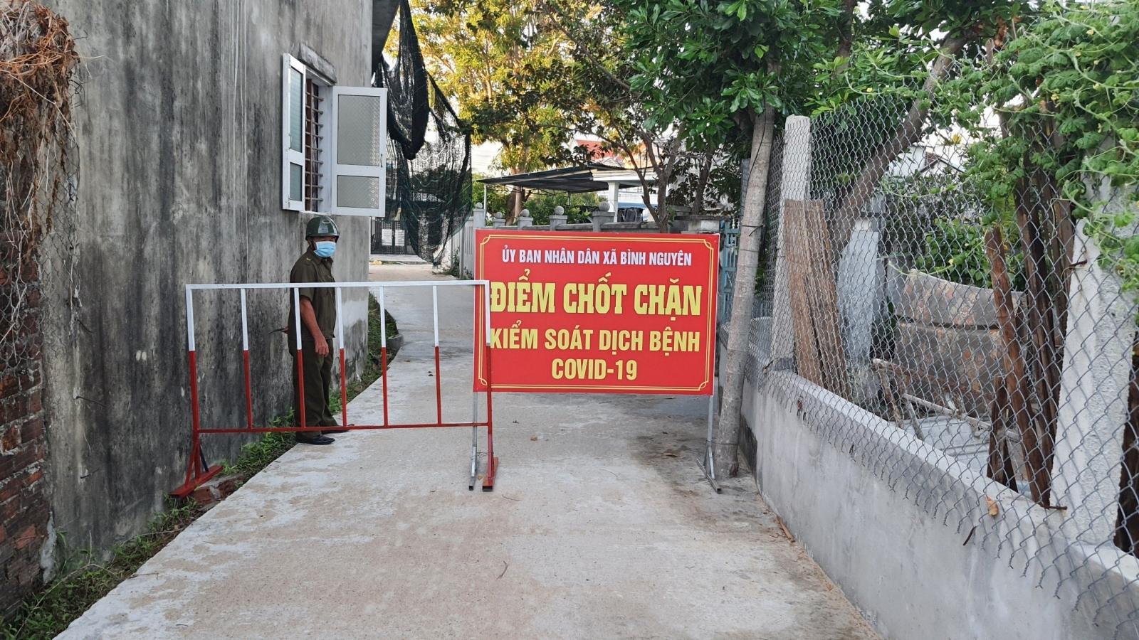 Khởi tố vụ người phụ nữ né chốt, lây Covid-19 cho chồng con ở Quảng Nam