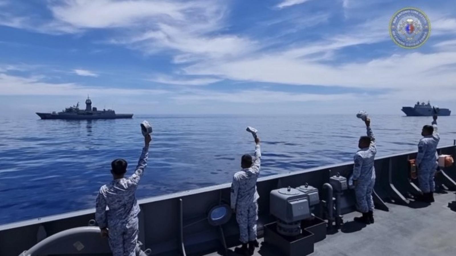 Hải quân Philippines và Australia tập trận phòng vệ Ấn Độ Thái Bình Dương