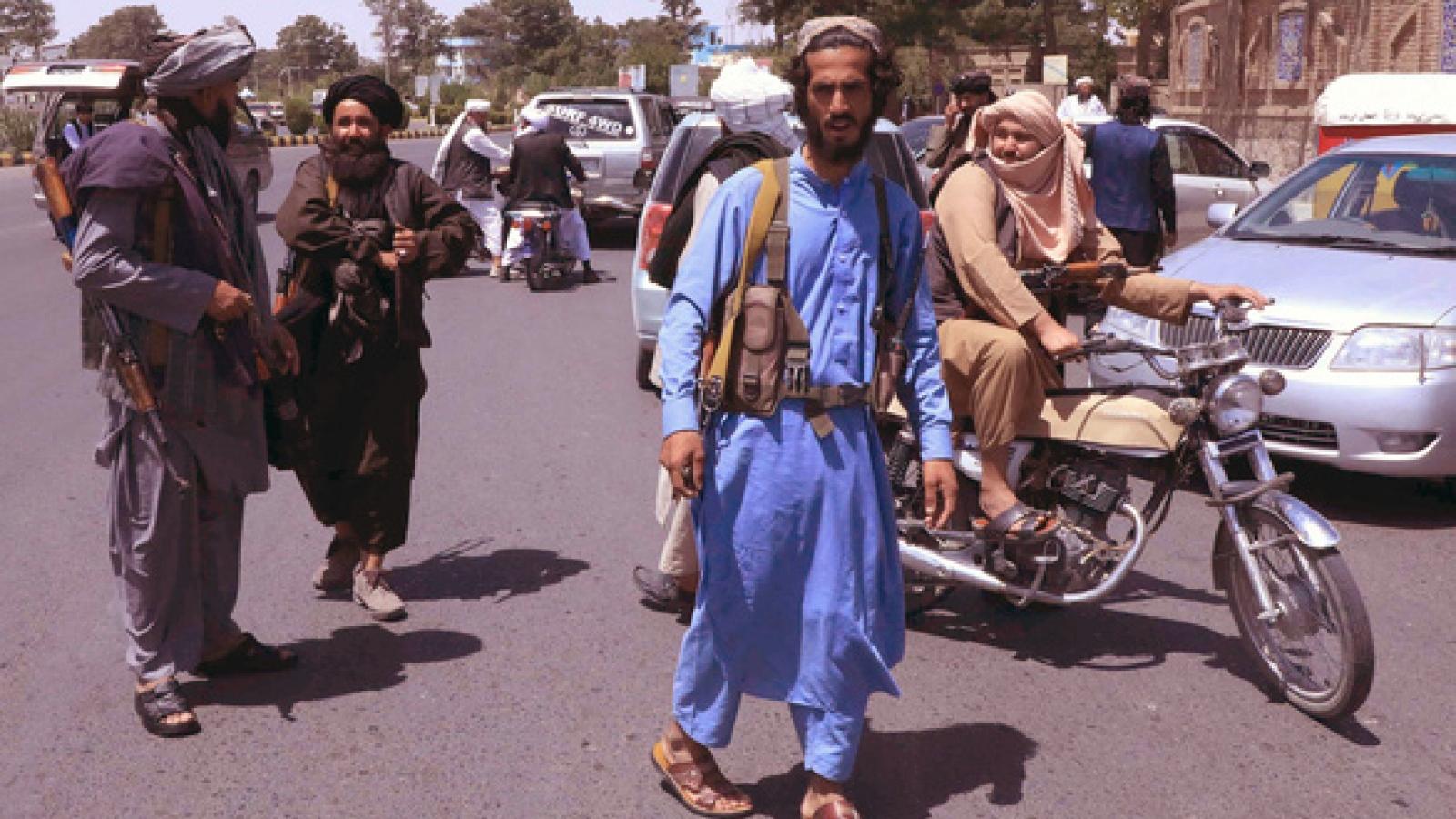 Mỹ đẩy mạnh nỗ lực ngoại giao xử lý các vấn đề nhức nhối sau khi rút quân khỏi Afghanistan